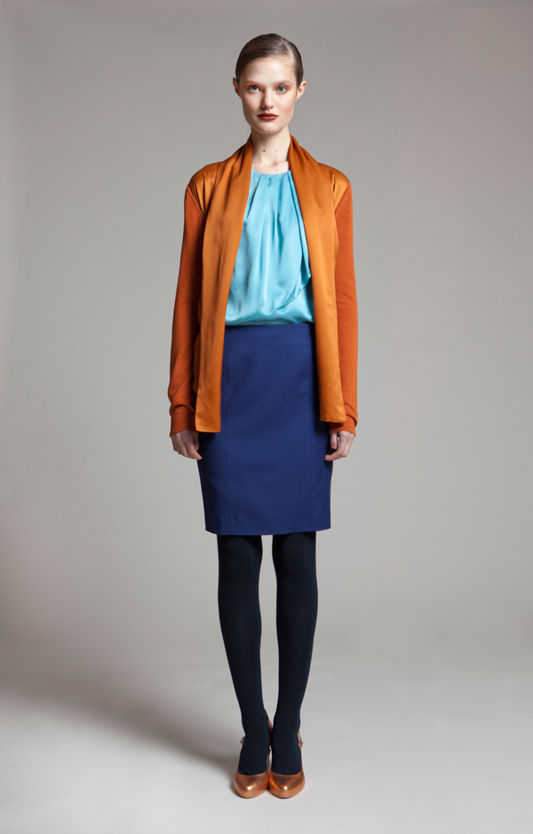 ports 1961 pre fall 2011 look book makeup and beauty
