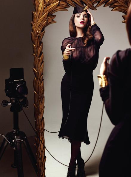Tom Ford and Julia Restoin Roitfeld in V Magazine