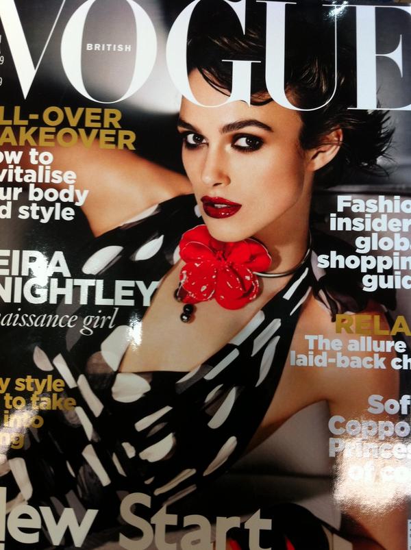 Keira knightley allure magazine