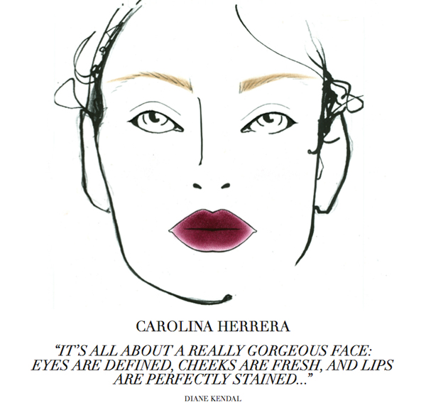 carolinaherrera cosmetics in Europe