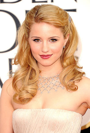 Dianna Agron's Hair at the