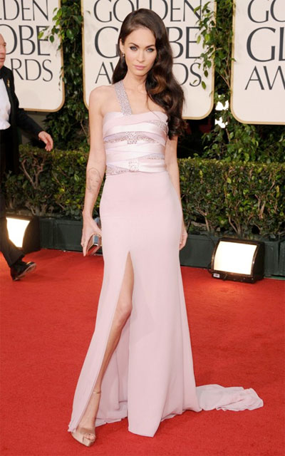 megan fox makeup 2011. Tonight, Megan Fox, the face