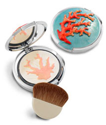Chantecaille Limited Edition Jay Strongwater Coral Compact