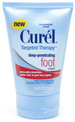 New Curel Deep Penetrating Foot Cream