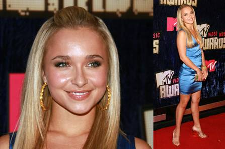 Hayden Panettiere at the 2007 MTV VMA's