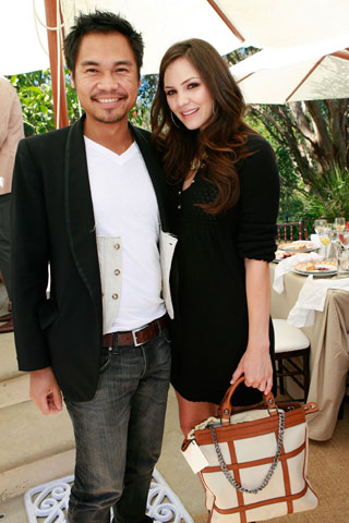 Be Inthavong and Katharine McPhee