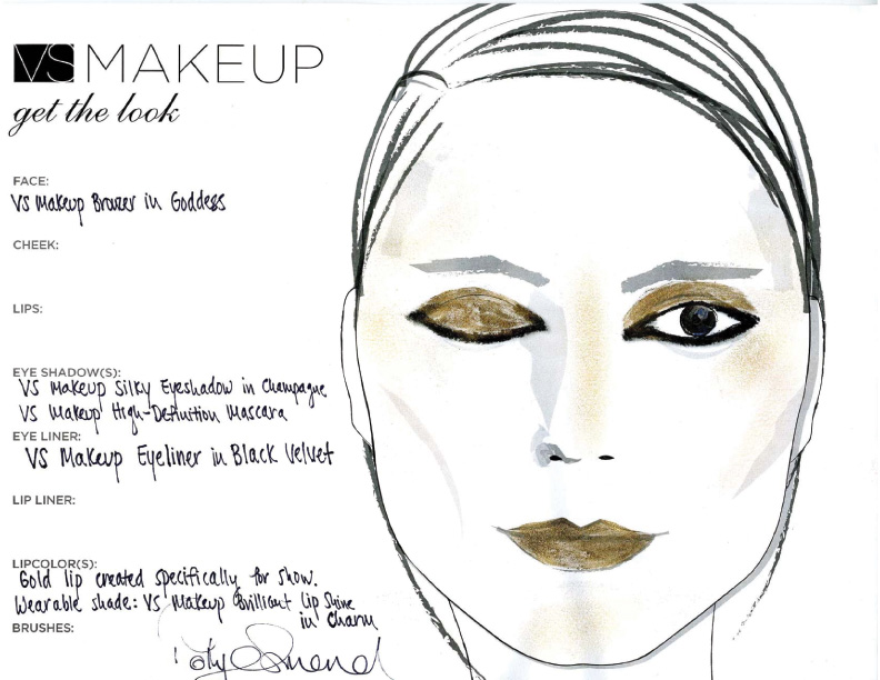 Christian Siriano Fashion Show: Get the Victoria Secret Makeup Look