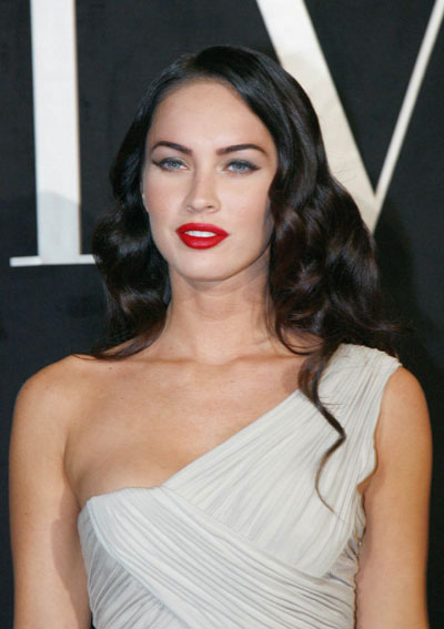 megan fox hair up. megan fox hair up.