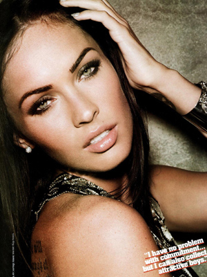 megan fox makeup how to. megan fox makeup. megan fox