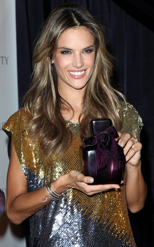 Alessandra Ambrosio At The Launch Of Velvet Fragrance Makeup And Beauty Blog Talkingmakeup Com