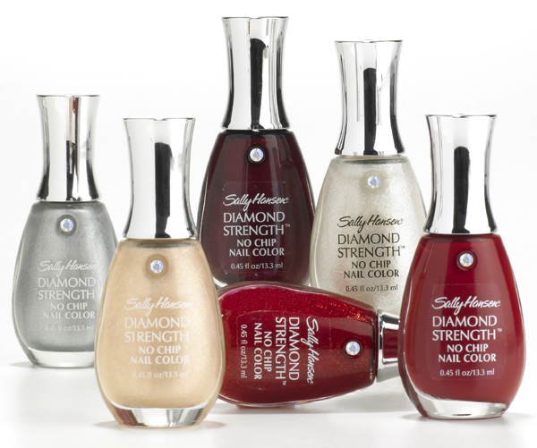 No Chip Nail Polish Reviews: Sally Hansen Holiday Diamond Strength No-Chip Nail Color