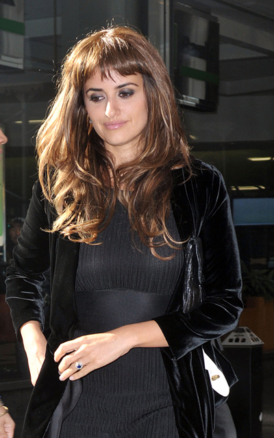 Penelope Cruz Layered Bangs Haircut. To retain that long hair look and to