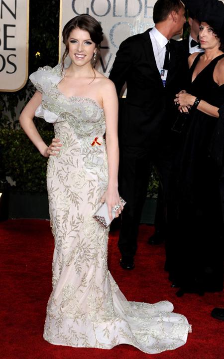 Anna Kendrick at the 2010 Golden Globes