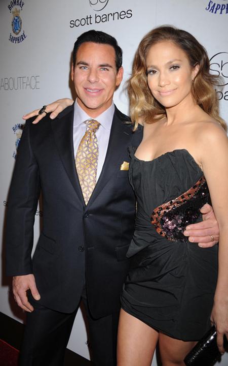 Jennifer Lopez at the Scott Barnes About Face Book Launch Party