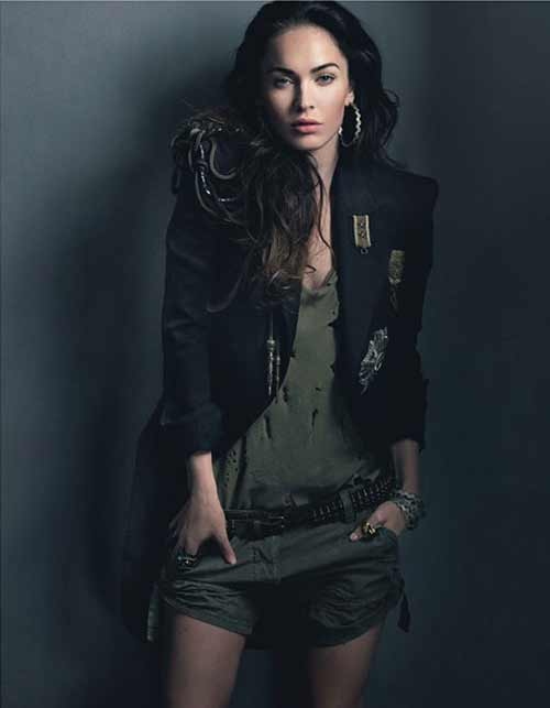 Megan Fox Elle Magazine 2010. Megan Fox W Magazine Cover