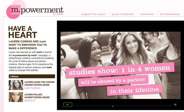 Lauren Conrad And The Stomp Campaign Makeup And Beauty Blog