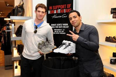 Bryan Greenberg and Victor Rasuk