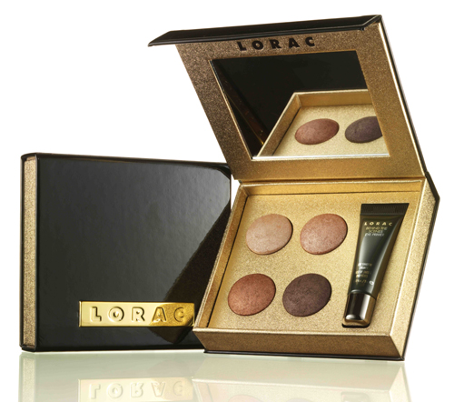 LORAC - Little Black Palette Eye Shadow/Eye Primer Palette :  makeup set eyes lorac cosmetics