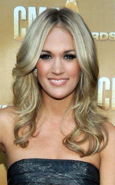 Carrie Underwood S Hair Makeup And Beauty Blog Talkingmakeup Com
