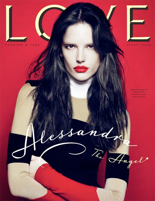 alessandra ambrosio hair color 2010. Alessandra Ambrosio Love