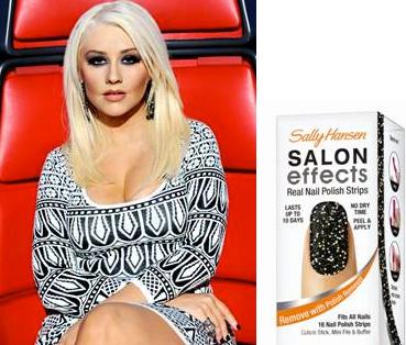 Christina aguilera wearing salon effects