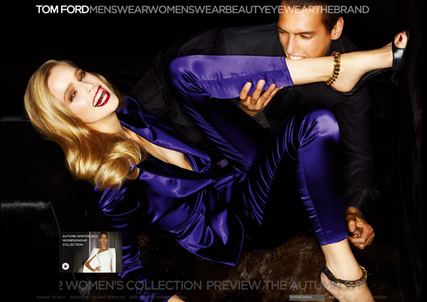 aa98d0a43263 ... Fall Winter 2012 WOMENSWEAR collection with a video on the TOM FORD  website