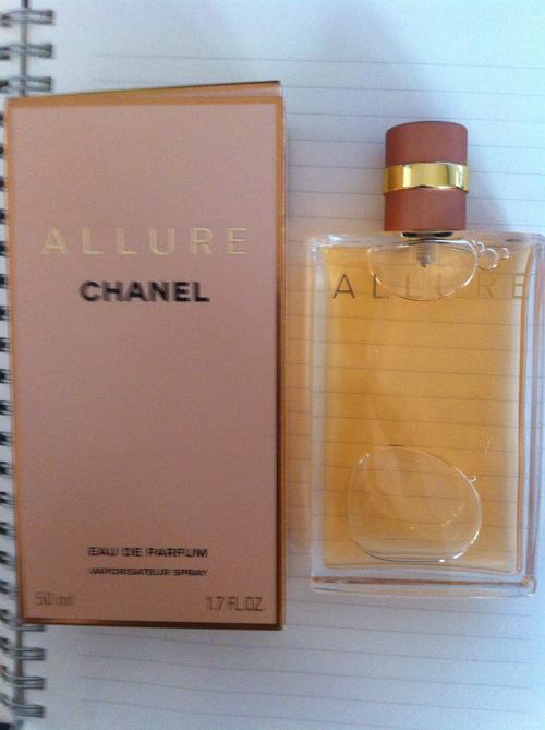 chanel allure parfume