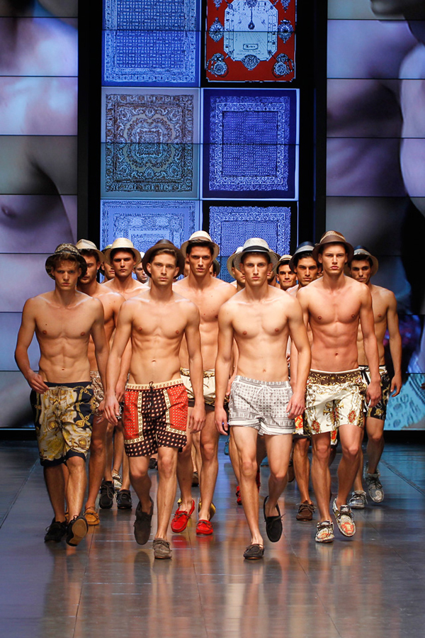 Summer Fashion Show Men D amp G Men Summer Fashion