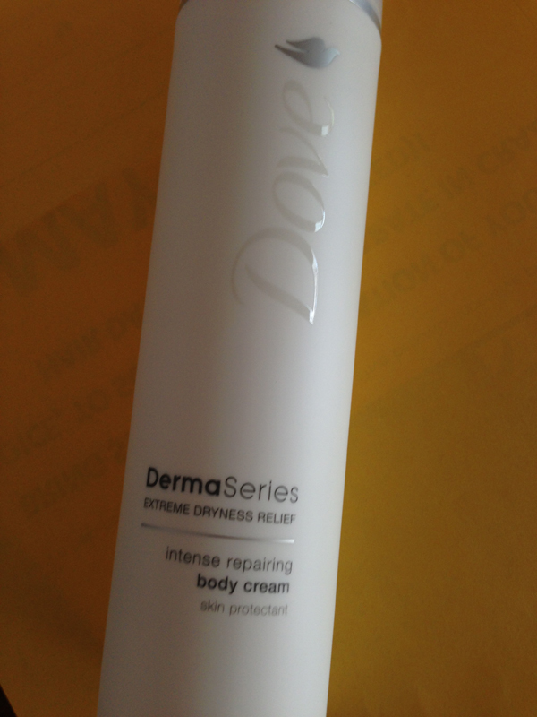 Dove Derma Series body cream