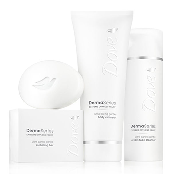 Dove Derma Series for sensitive skin