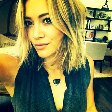 Hilary Duff's hair