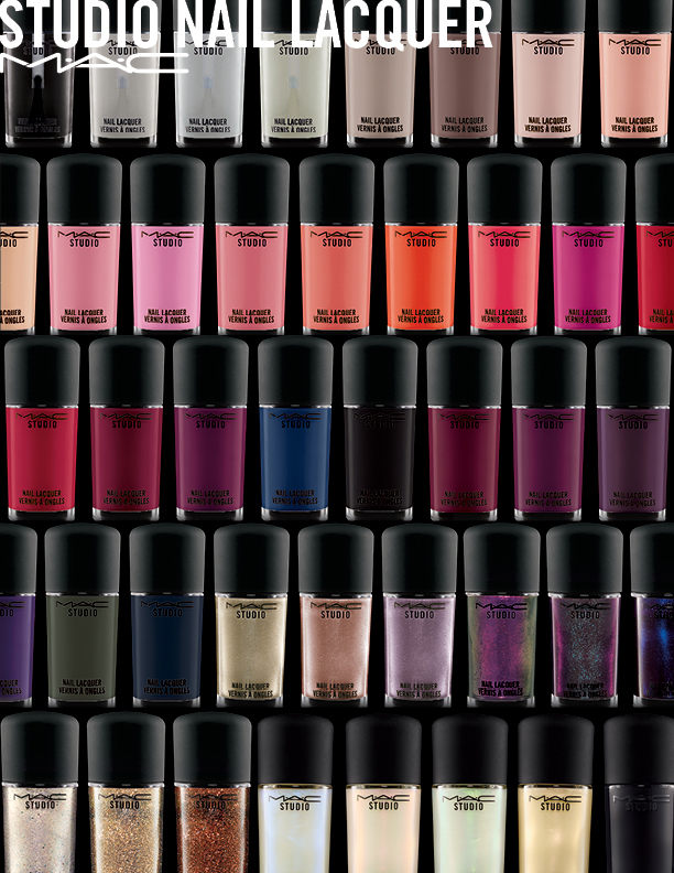 MAC Nail Transformations and Studio Nail Lacquer