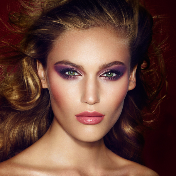 Charlotte Tilbury Beauty The Glamour Muse Makeup  Look