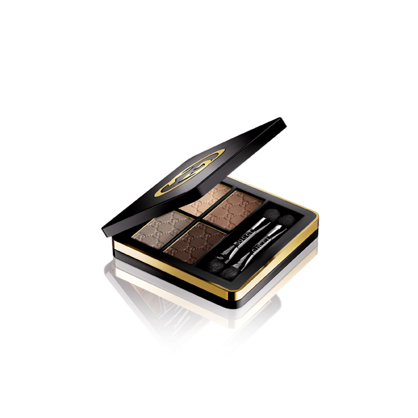 Gucci eye Magnetic Color Shadow Quad 020 Tuscan Storm