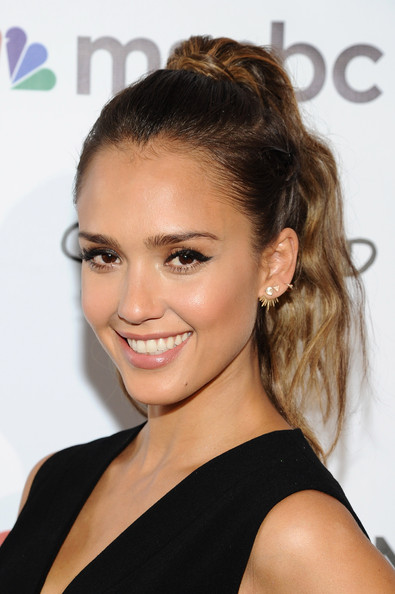 Jessica Alba at the 2014 Global Citizen Festival