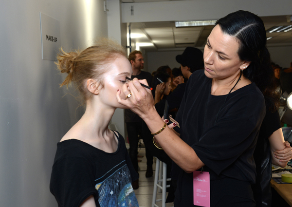 3.1 PHILLIP LIM SPRING/SUMMER 2015 | NARS makeup