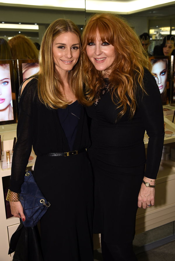 Celebrities & VIPs attend Charlotte Tilbury's VIP Make-Up Launch Party at Bergdorf Goodman in New York City | Charlotte Tilbury with Olivia Palermo