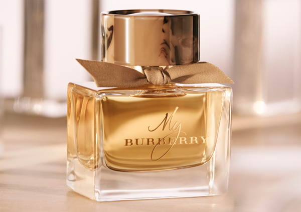 My Burberry perfume bottle