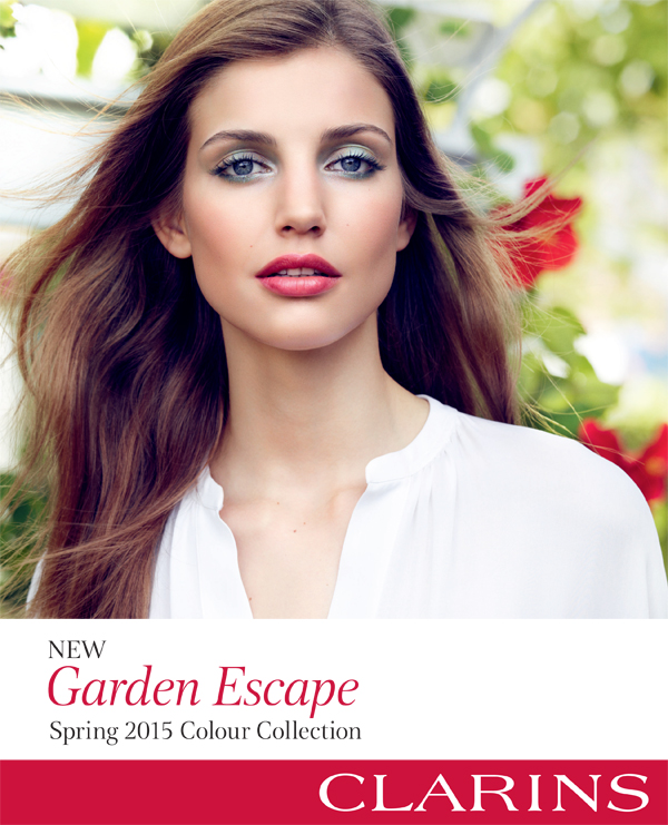 Clarins Spring 2015 Garden Escape Colour Collection