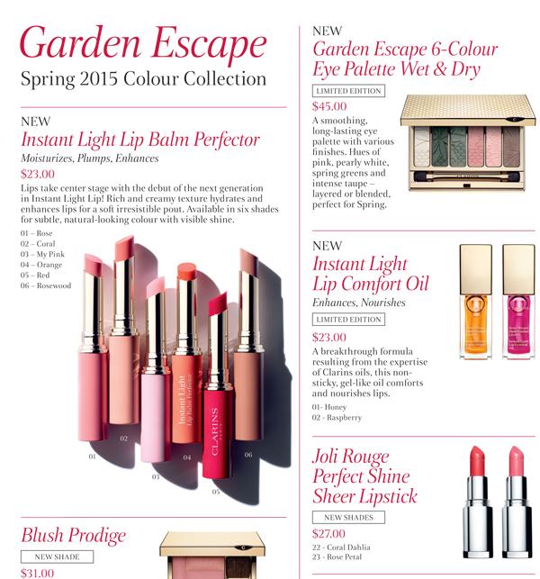 Clarnis Garden Escape Colour Collection
