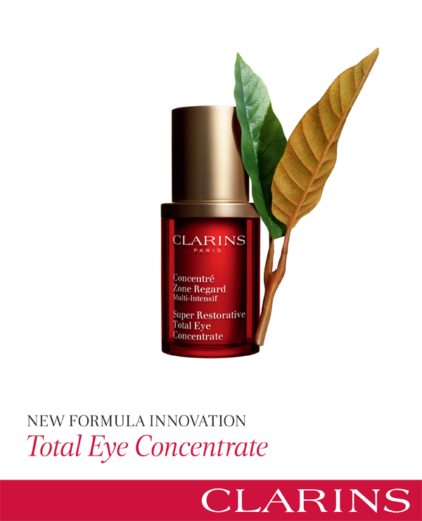 CLARINS Total Eye Concentrate à an all-in-one anti-aging eye treatment