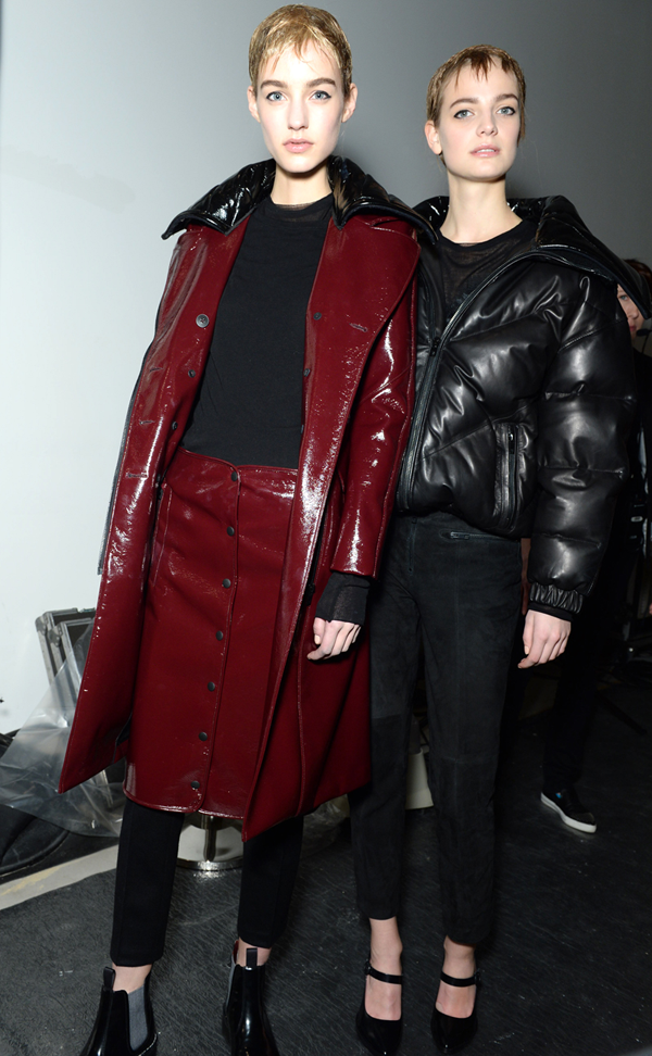 BACKSTAGE AT RAG & BONE AUTUMN/WINTER 2015
