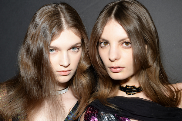 BACKSTAGE AT RODARTE AUTUMN/WINTER 2015