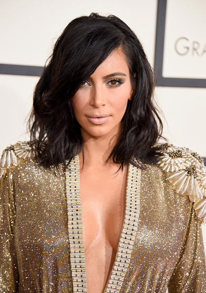Kim Kardashian's Hair and Makeup