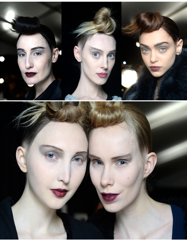 BACKSTAGE AT MARC JACOBS AUTUMN/WINTER 2015