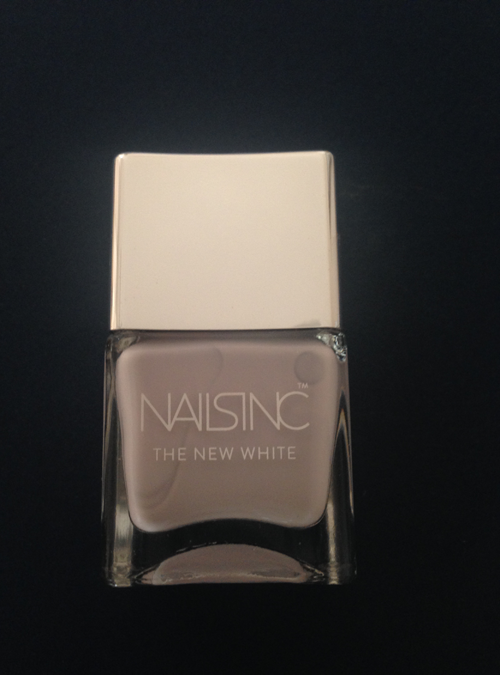 Nails Inc The New White, White Horse Street nail polish