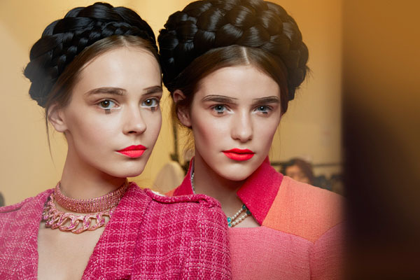 CHANEL 2015 Cruise Seoul Show Backstage Makeup