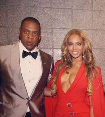 Jay-Z in TOM FORD with Byonce