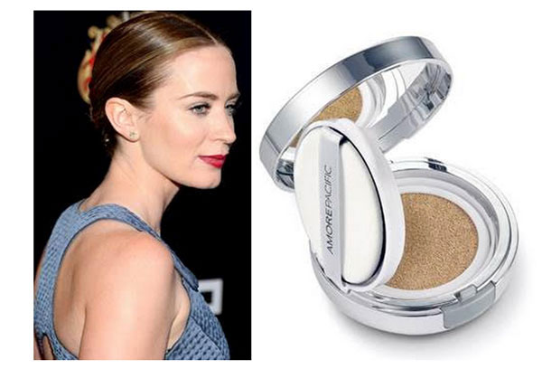 Get The Look: Emily Blunt + AMOREPACIFIC