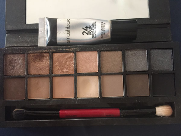 Smashbox 24 Hour Photo Finish Shadow Primer and Smashbox Full Exposure Palette